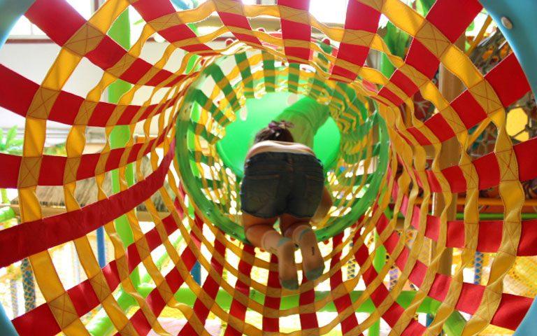 Instalaciones de Bubble Aventuras, en Chiclana